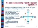 re conceptualizing psychological egoism 2