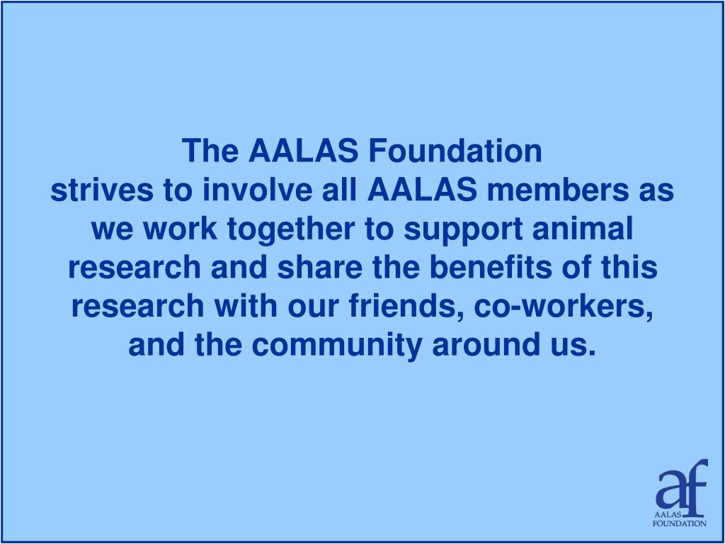 The AALAS Foundation