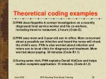 theoretical coding examples