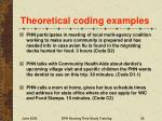 theoretical coding examples30