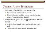 counter attack techniques