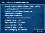 fisma security assessment process