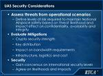 uas security considerations