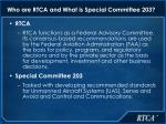 who are rtca and what is special committee 203