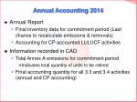 annual accounting 2014