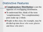 distinctive features36