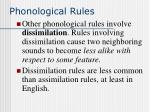 phonological rules50