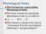 phonological rules58