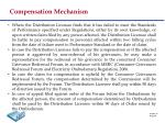 compensation mechanism