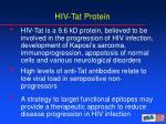 hiv tat protein