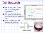coil research