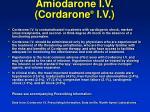 amiodarone i v cordarone i v58