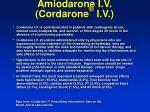 amiodarone i v cordarone i v59