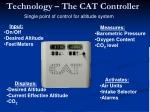 technology the cat controller