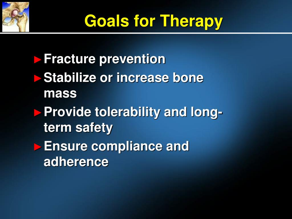Goals for Therapy