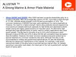 alustar tm a strong marine armor plate material3