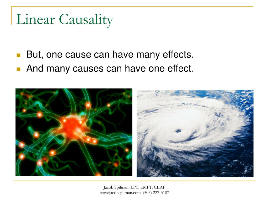 Linear Causality