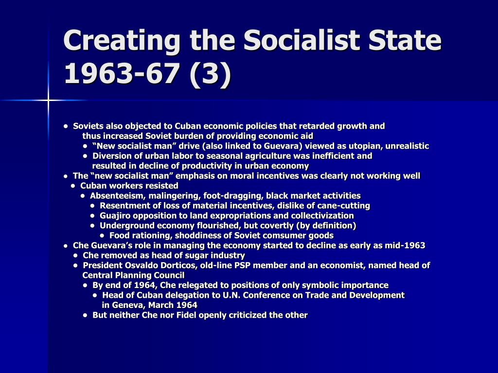 Creating the Socialist State
