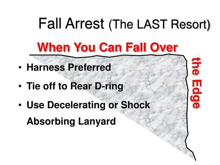 Fall Arrest