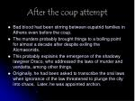after the coup attempt