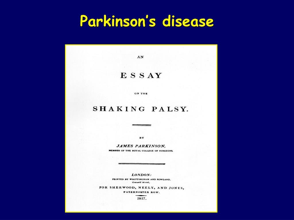 parkinson s disease l.
