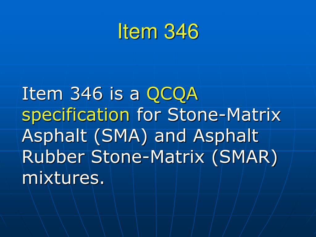 Item 346