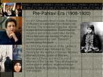 pre pahlavi era 1908 19209