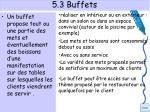 5 3 buffets