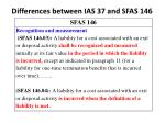differences between ias 37 and sfas 1463