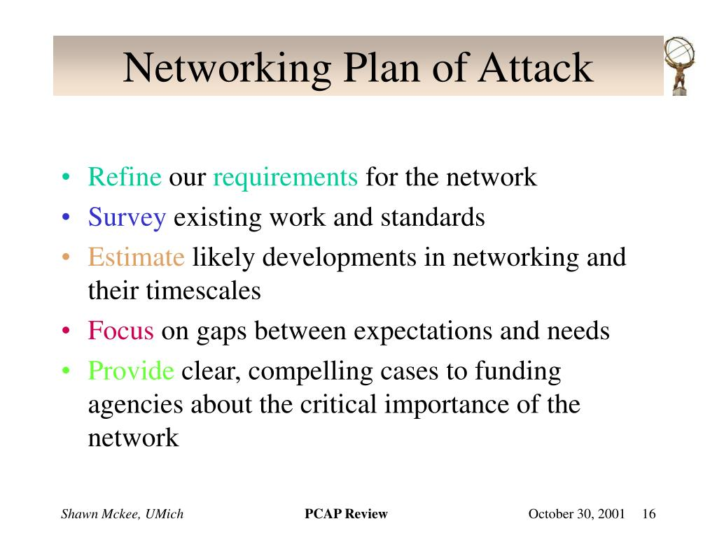 Networking Plan of Attack
