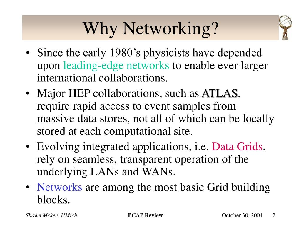 Why Networking?