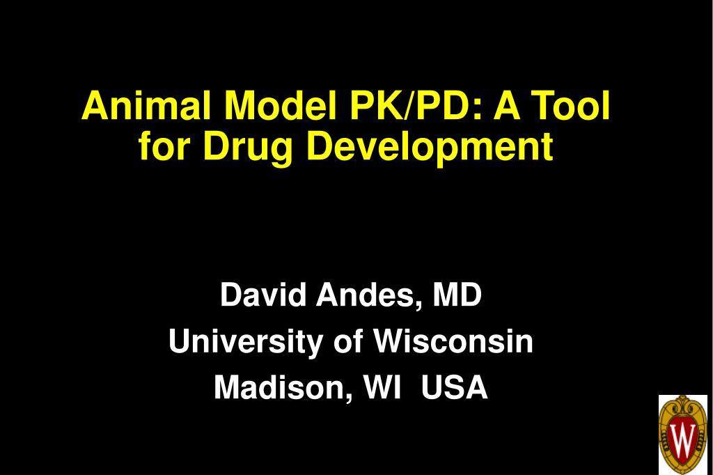 animal model pk pd a tool for drug development l.