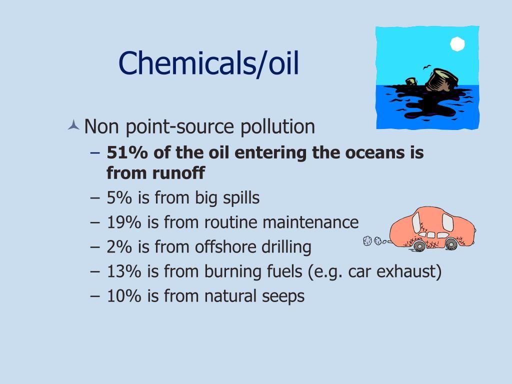 Chemicals/oil