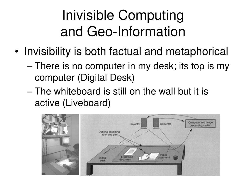 Inivisible Computing