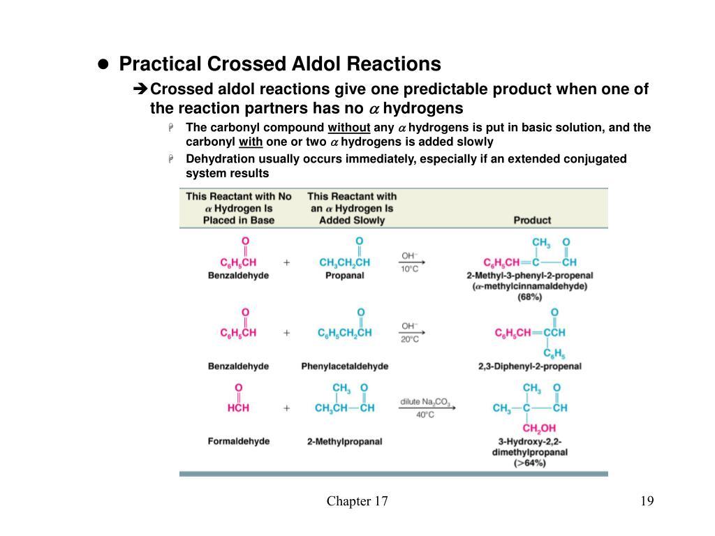 Practical Crossed Aldol Reactions