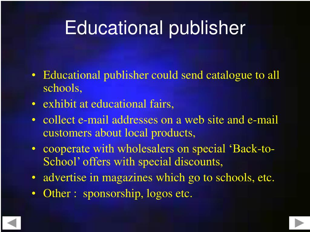 Educational publisher