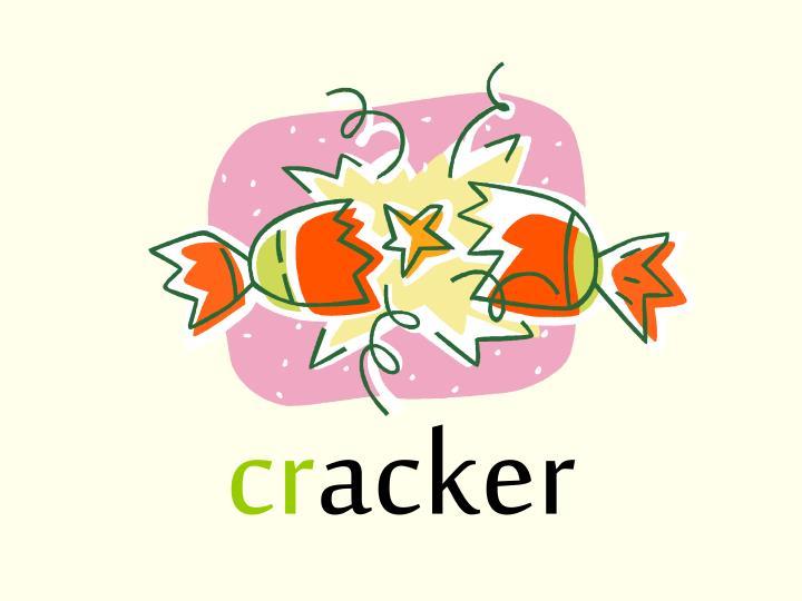 Cr acker