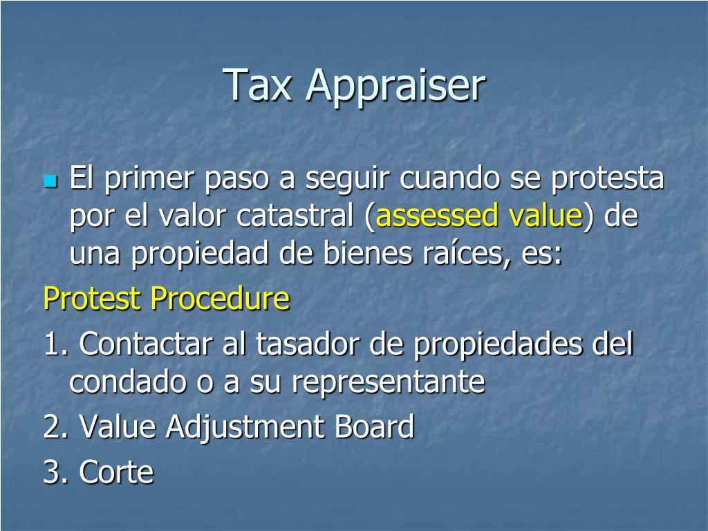 Tax Appraiser