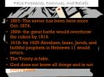 false prophecies doctrines and beliefs