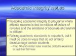 academic integrity issues