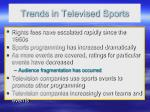 trends in televised sports