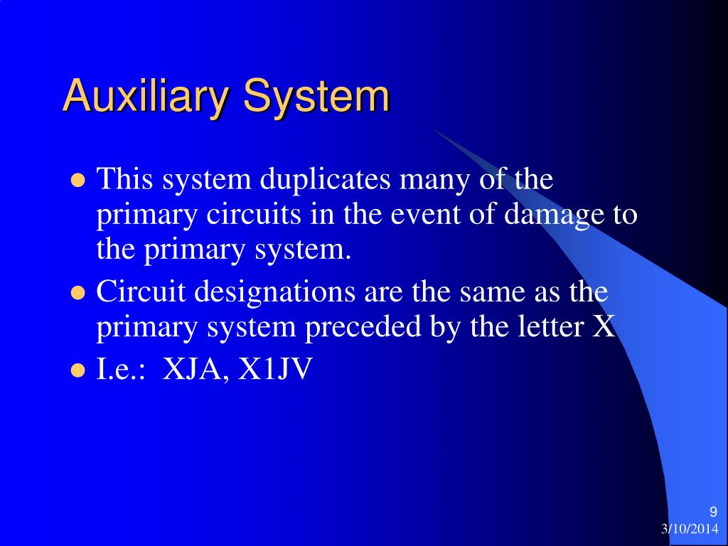 Auxiliary System