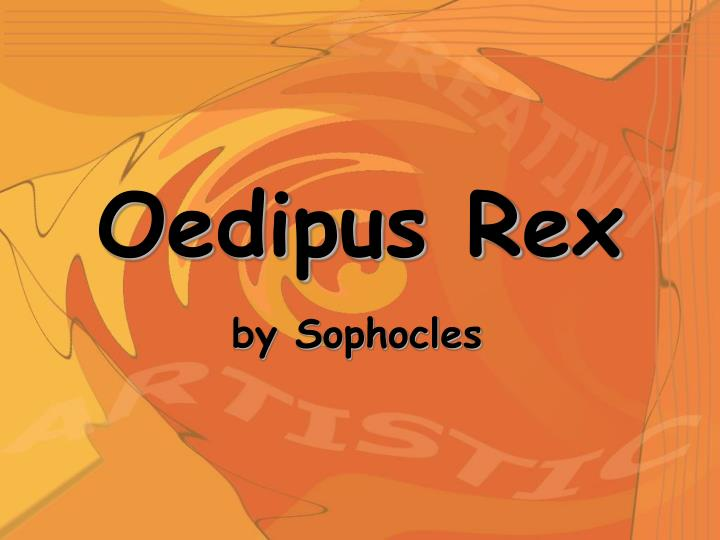 the description of oedipus as the classic tragic hero in sophocles play oedipus rex