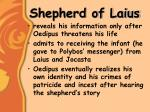 shepherd of laius
