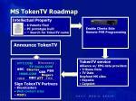 ms tokentv roadmap