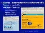 scenarios broadcasters revenue opportunities