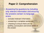 paper 2 comprehension11