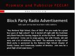 promote and publicize fccla16