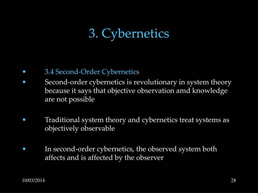 3. Cybernetics