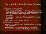 characteristics of the american economy12